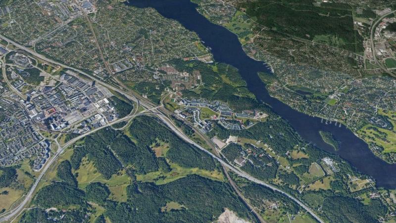 Utbyggnad av tvärbanan i Stockholm genomförs med schaktningsfria ledningsmetoder